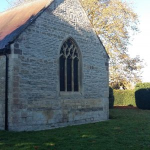 Peopleton Church The 14 East Wall Repair Completed November 2017