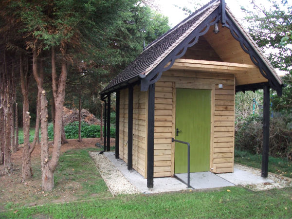 New Store And Toilet Located At Peopleton Church